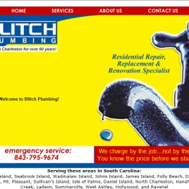 Blitch Plumbing web site