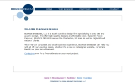 Bounce Designs web site