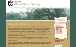 Charles Towne Landing web site