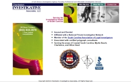 Charleston Investigative Associates web site