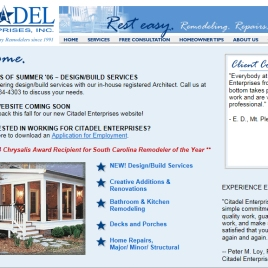 Citadel Enterprises web site