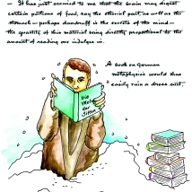 Reading and Dandruff