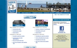Harbor City Real Estate web site
