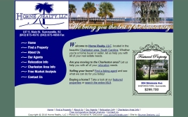 Horne Realty web site