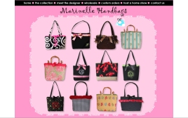 Marinelle Handbags web site