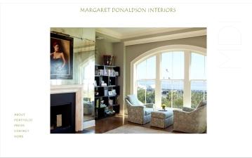Margaret Donaldson Interiors web site
