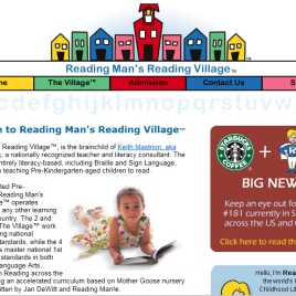 Reading Man web site